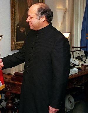 Kargil War - Nawaz Sharif, Prime minister at that time, after a few months a military coup d'état was initiated that ousted him and his government.