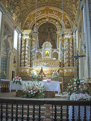 Church of Nossa Senhora da Nazaré - Image: Nazaré03
