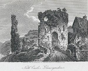 Neath Castle - Image: Neath castle, Glamorganshire