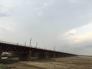 Nehru Setu - Longest Bridge Of India when constructed