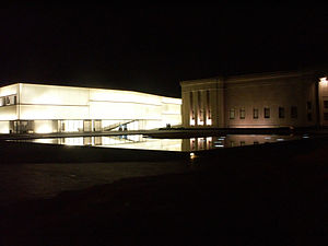 Nelson-Atkins Museum of Art - The Nelson with the new Bloch addition