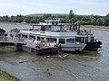 Neptun (ship, 1970) and Szent Kristóf (ship, 1982), 2018 Újlipótváros.jpg