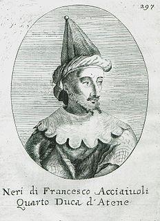 Nerio II Acciaioli Duke of Athens