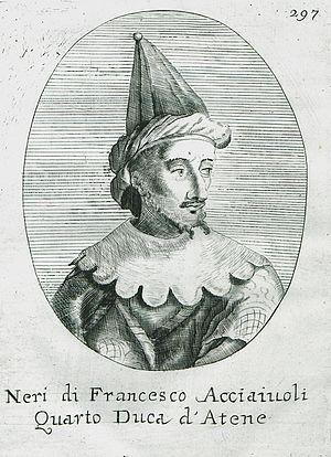 Nerio II Acciaioli - Nerio II Acciaioli