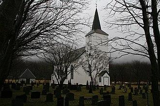 Nes Church, Bjugn - Image: Nes kirke 011