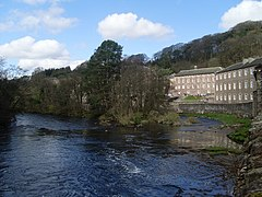 New Lanark and the River Clyde - geograph.org.uk - 1249528.jpg