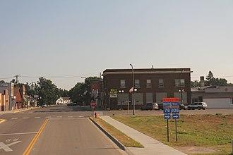 New York Mills, Minnesota - Downtown New York Mills