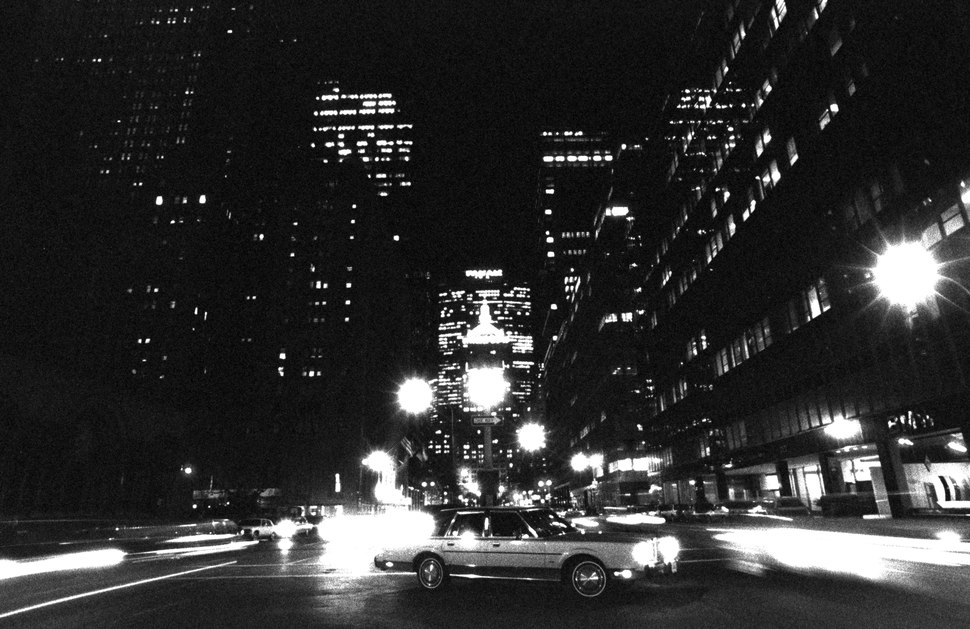 New York night, 1989