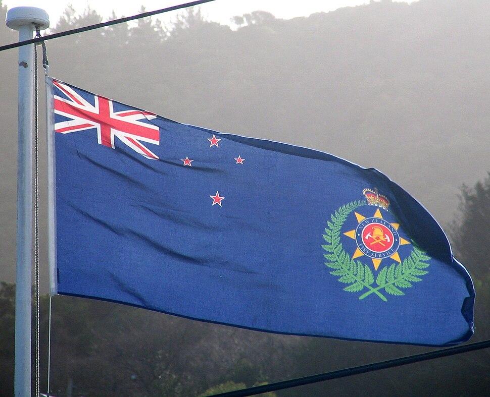 New Zealand Fire Service flag