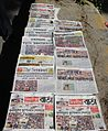 News Headlines after Bhupen Hazarika's death.JPG