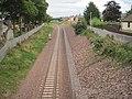 Newtongrange railway station (site), Midlothian (geograph 4664896).jpg