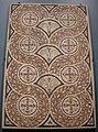 Ngv, mosaico geometrico, costa africana del nord (cartagine) seconda metà del IV secolo DC.JPG