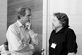 John Perry Barlow - Barlow with Nicholas Negroponte