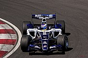 Nico Rosberg driving the Williams FW28-Cosworth at Canadian GP.