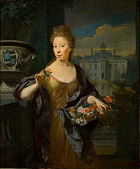 Portret van Cornelia Maria Spiering van Spieringshoek