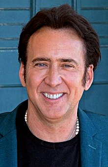 Nicolas Cage - the sexy, endearing, talented,  actor  with German, Italian, Polish,  roots in 2017