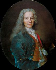 Porträt von Nicolas de Largillière, c.  1724