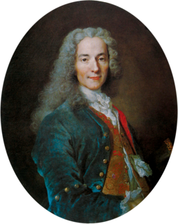 Voltaire French writer, historian and philosopher