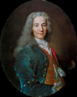 Nicolas de Largillière, François-Marie Arouet dit Voltaire adjusted