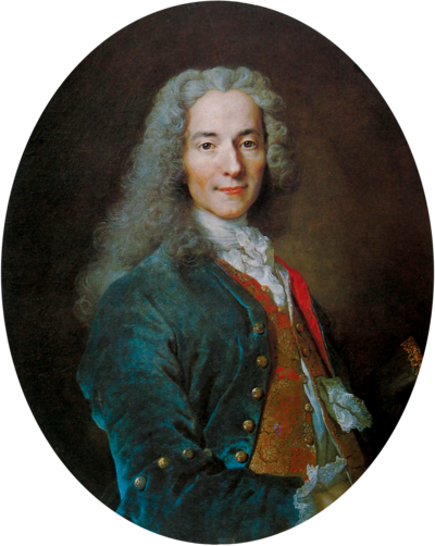 Picture of an author: Voltaire