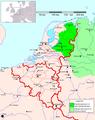 Niedersächsisches Sprachgebiet (Niederlande).PNG