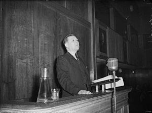 Nils Hønsvald - Hønsvald in 1948