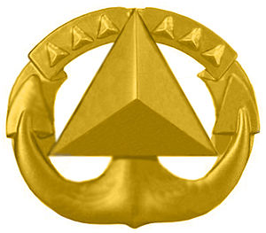 Awards and decorations of the National Oceanic and Atmospheric Administration - NOAA Command-at-Sea insignia