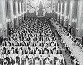 Nobelmiddag, Gyllene salen, 1950.jpg