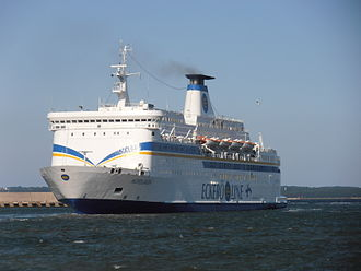 MS Almariya - Image: Nordlandia arriving in Tallinn 13 August 2012