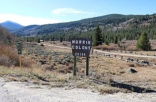Norrie, Colorado Census Designated Place in Colorado, United States