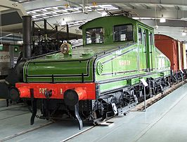 Locomotief nr 1 in het Locomotionmuseum te Shildon in april 2008