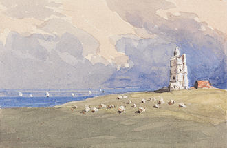 North Foreland - North Foreland Lighthouse by George Jackson, ca. 1839-1844