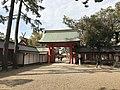 North Mizugaki Gate of Sumiyoshi Grand Shrine 2.jpg