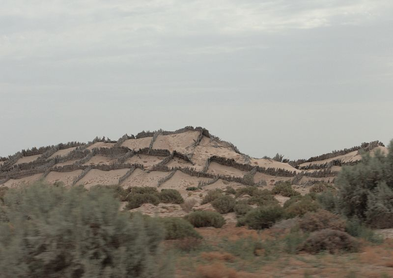 North Sahara. Anti-sand shields.jpg