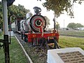 North West Railway preserved steam locomotive at Golra Railway Station.jpg