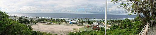 North coast of Nauru