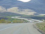 Northeast along US-40 US-189 from the SR-32 junction, Apr 16.jpg