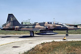 Canadair CF-5 - Greek CF-5B Freedom Fighter