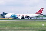 Northwest Airlines Boeing 747-222B(SF) (N645NW-23736-673) (15479105546).jpg