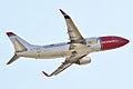 Norwegian, LN-KHC, Boeing 737-31S (16270393279).jpg