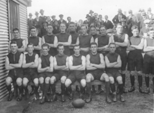 1923 SAFL season - 43rd SAFL season Pictured above is the 1923 Norwood premiership team.