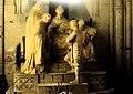 Noyon, cathedrale Notre-Dame, statues of rehabilitation of Jeanne-d'Arc.JPG