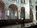 Noyon (60), cathédrale Notre-Dame, chœur, grandes arcades du sud.jpg