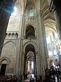 Noyon (60), cathédrale Notre-Dame, croisillon nord, 1ère travée, vue vers l'est.jpg