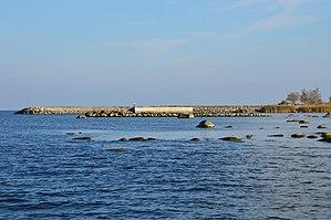 Kräsuli - Image: Nurme sadam, Kräsuli saar