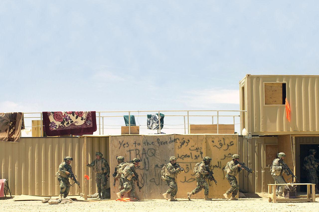 美军在欧文堡国家训练中心(fort irwin & the national training ce