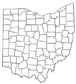Location of Clinton, Ohio
