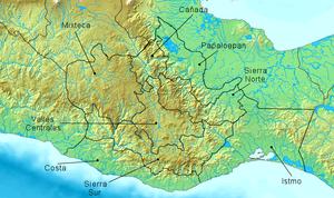 de Oaxaca, el nombre de las regiones del estado proviene de las ...