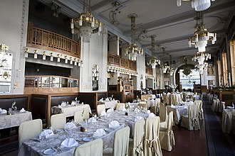 Municipal House - Image: Obecni Dum Restaurant, Prague 8377