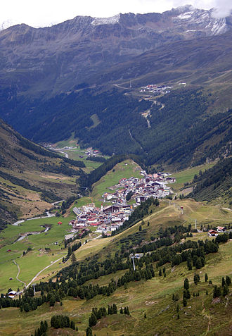 The Mountain Eagle - The village of Obergurgl in the State of Tyrol, where the exterior footage of the film was shot